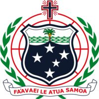 Coat of The Independent State of Samoa
